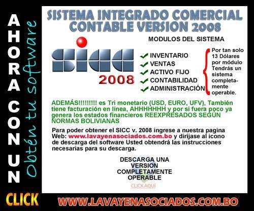 Software contable a solo click!!