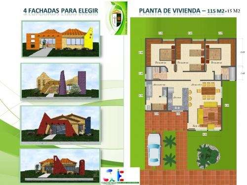 Vendo casas a credito en urbanizacion aranjuez en el km13 doble via a la guardia