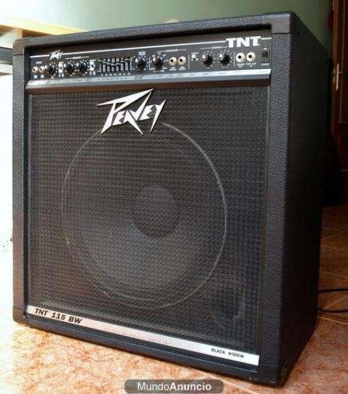 Por ocacion vendo un amplificador de bajo peavey tnt-115