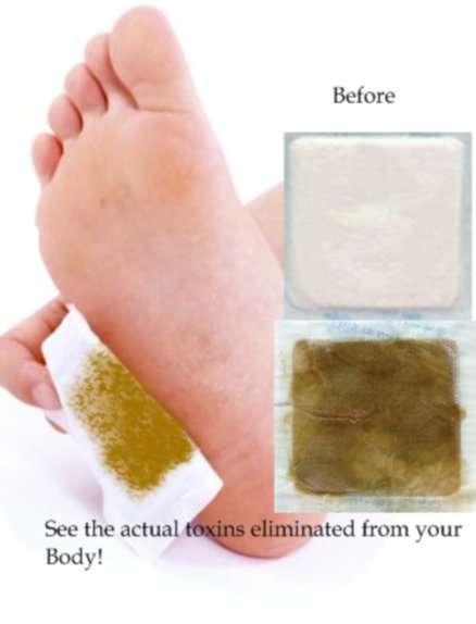 Limpia y energiza tu cuerpo parches kinoki