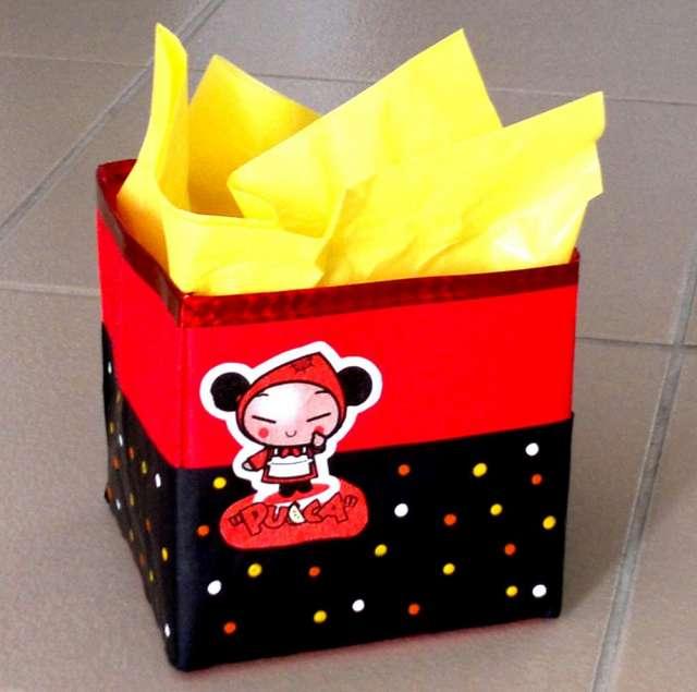 Fotos de Canastitas de pucca para cumpleaños infantiles 3
