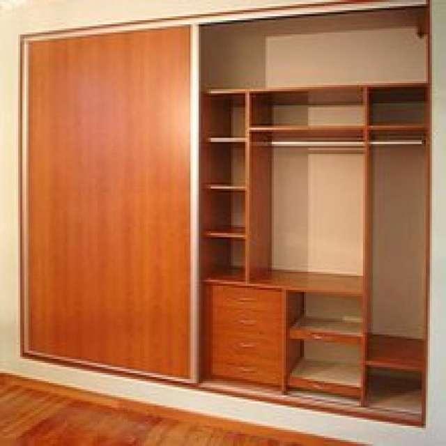 Roperos empotrados de melamina imagui - Muebles armarios roperos ...