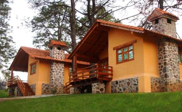 Casas rusticas de adobe fachadas de casas de campo en - Construccion de casas ...
