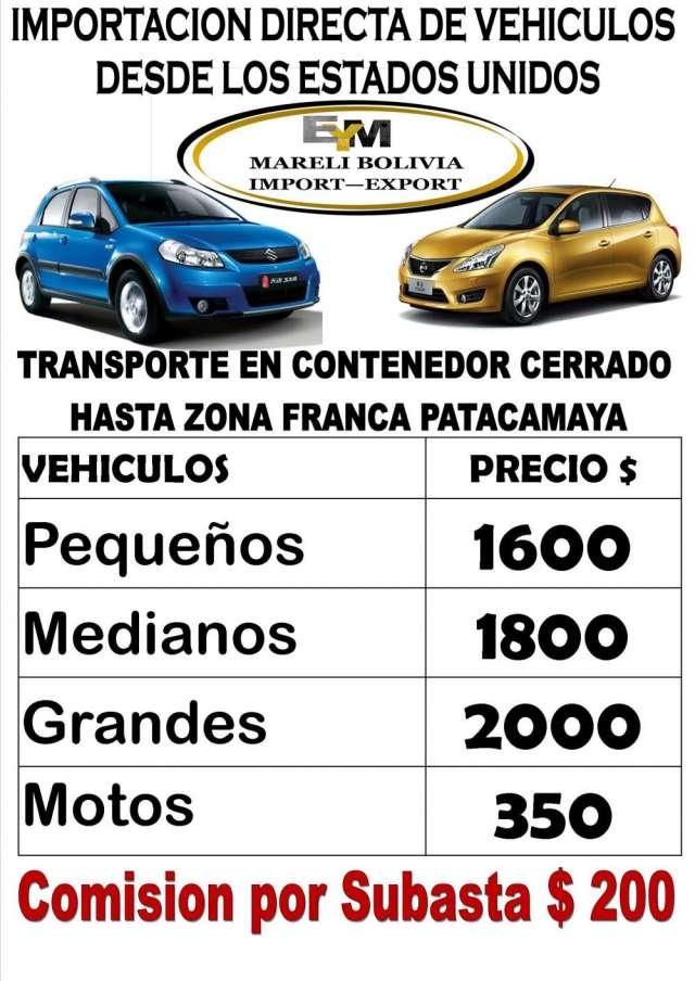 Importacion de vehiculos americanos