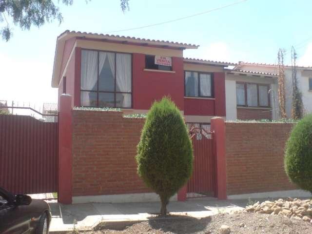 Casa en venta  cochabamba con financiamiento bancario