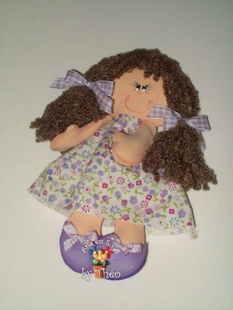 Muñecas en goma eva gratis - Imagui