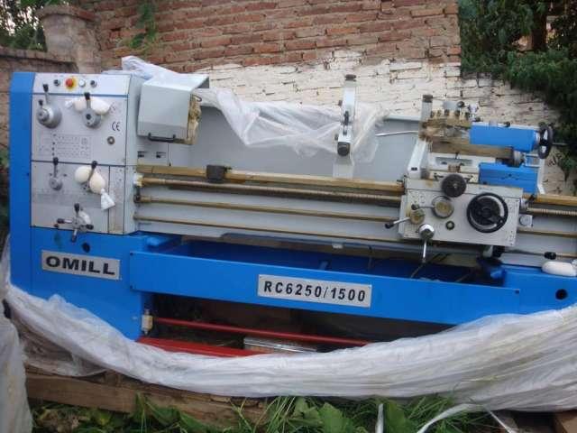 Vendo torno mecanico nuevos  tornos omill rc6250/1500, largo de 2.956x1500 mtros.cochabamba bolivia