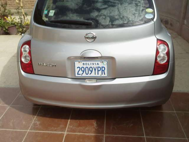 Fotos de Vendo nissan march modelo 2009 color plomo impecable 5