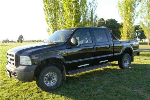 2007 ford f-100 xl  negro