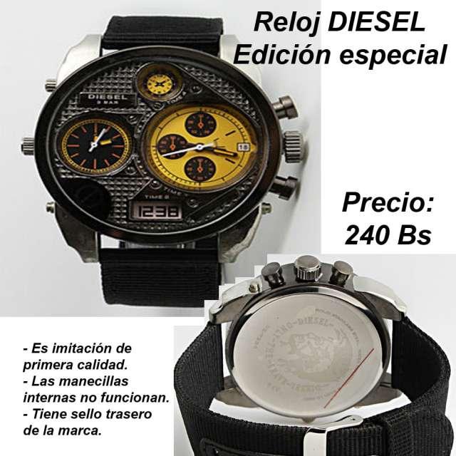 reloj diesel imitacion