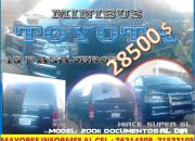 MINIBUS TOYOTA 15PAS