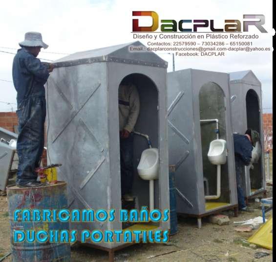 Muebles Para Baño En Fibra De Vidrio:Baños moviles en fibra de vidrio banos portatiles banos ecologicos