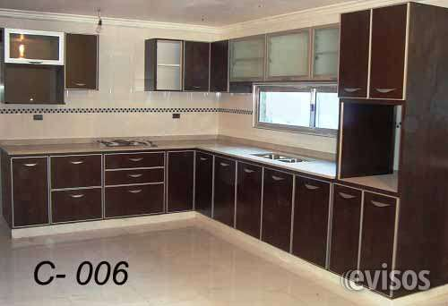 Muebles de cocina en wenge 20170812141801 for Muebles de cocina precios de fabrica