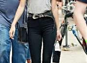 Jeans de cintura #skinny tallas nornales y licras