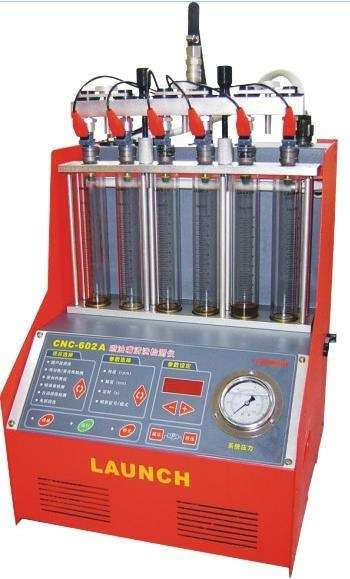 Laboratorio de inyectores cnc 602a launch,cnc-602a injector cleaner & tester