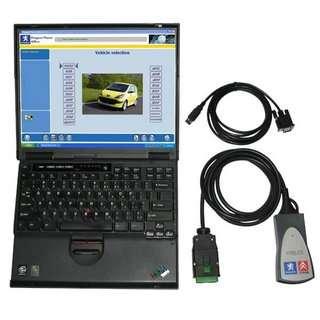 Lexia-3 citroen/peugeot automóvil escáner de diagnóstico,obd can