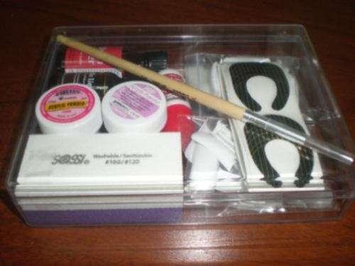 Kit profesional de uñas acrilicas