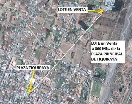 Ocasion vendo terreno tiquipaya (8.150 mts)