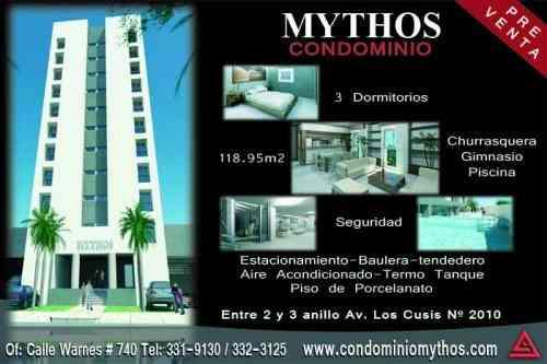 Aproveche precios bajos de preventa: condominio mythos - departamentos zona norte