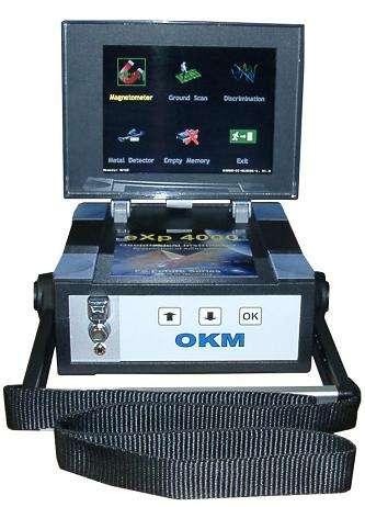 Vendo detector de metales marca alemana exp4000