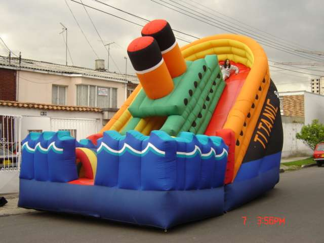Fotos de Inflables  saltarines muro  escalar cuatrimotos  cama  elastica  pelotas  chocad 6