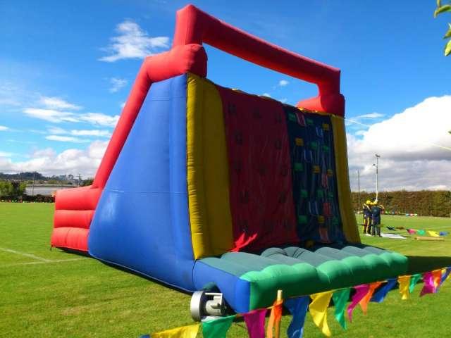 Fotos de Inflables  saltarines muro  escalar cuatrimotos  cama  elastica  pelotas  chocad 2