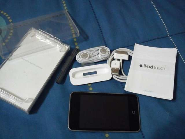 Remato ipod touch 2g - 8g 120 $ :)