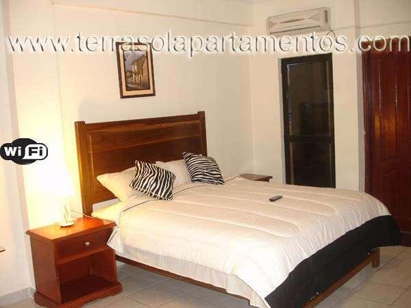 Apartamentos amoblados x dia semana santa cruz bolivia