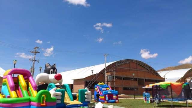 Juegos, globos inflables para cumpleaños eventos infantiles