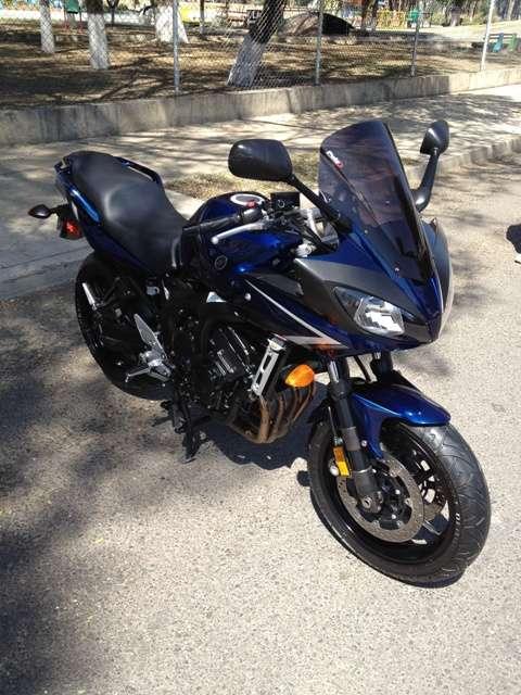 Yamaha fz6 fazer motocicleta ninja hermosa