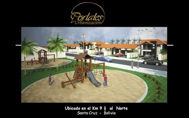 En pre venta hermosas casas en la zona norte km 9, 65.000 $us