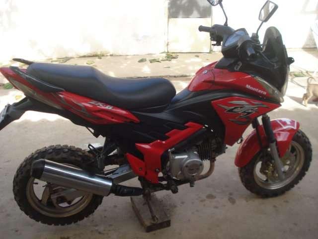 Vendo moto deportiva marca montero modelo 2011