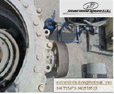 Mantenimiento reparacion y fabricacion derepuestos de chancadoras de quijada,conicas,zarandas,fajas transportadoras,sistema de lubricacion ,otros.