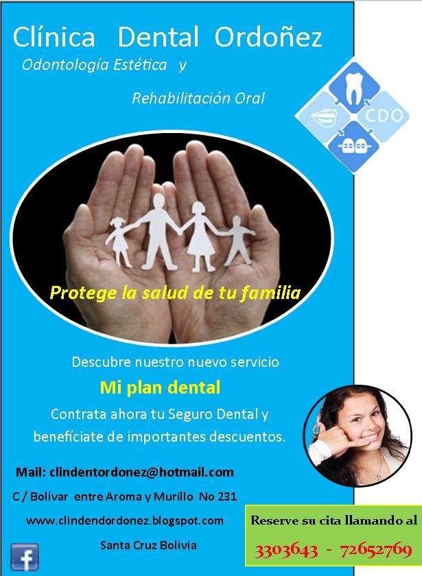 Programa de atención dental integral para toda la familia: mi plan dental