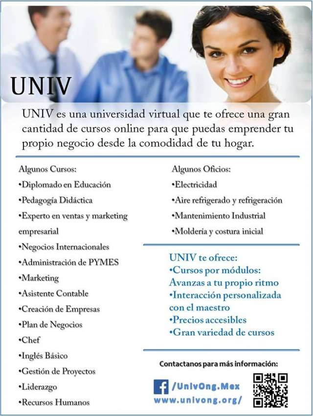 Profesores para universidad virtual internacional