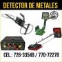 Vendo Detectores de Metales en Santa Cruz Bolivia