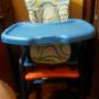 silla de bebe convertible en pequeño escritorio