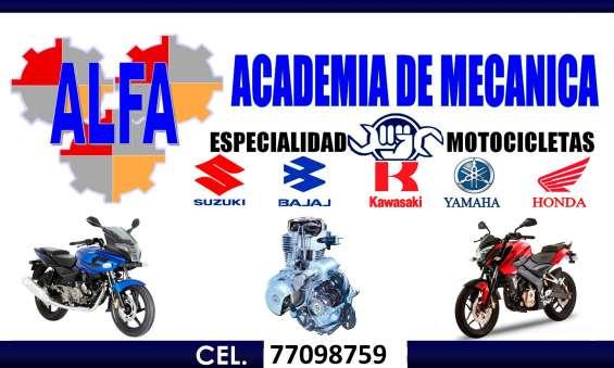 Curso de mecanica y electricidad en motos de 2 y 4 tiempos