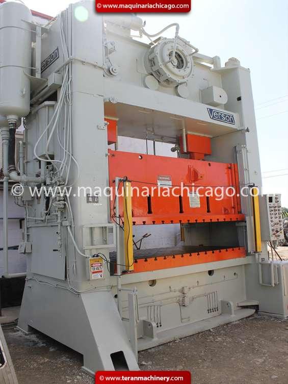Troqueladora verson 300 ton usada