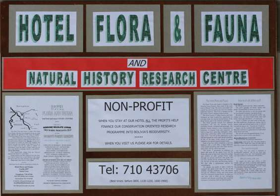 Hotel flora and fauna for sell