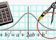 A domicilio clases personalizadas de matematicas y fisica