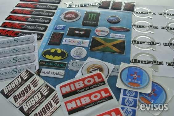 Sticker siliconados