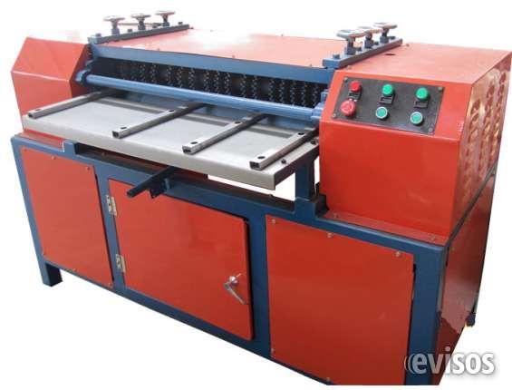Máquina de reciclaje de radiadores
