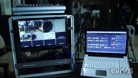 Mezcladora de video digital black magic