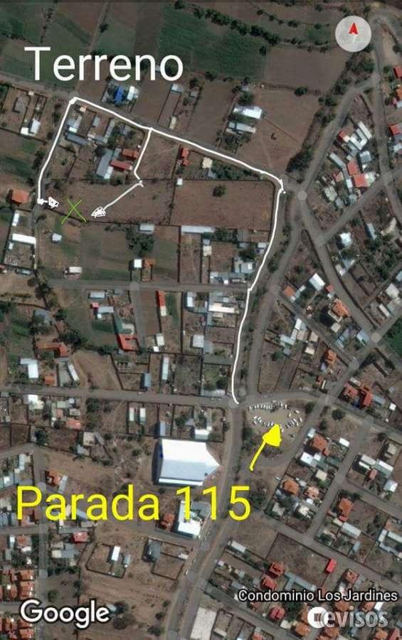 Terreno en venta en zona norte de cochabamba