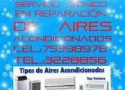 Técnicos en reparacion, instalacion y mantenimiento de aires acondicionados ``santa cruz``