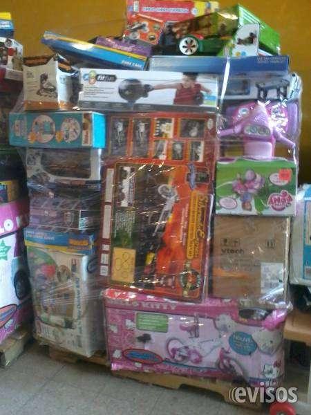 Venta palets de juguetes americanos nuevos de retorno en bolivia