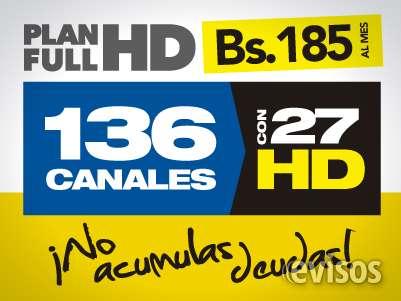 Disfruta de 136 canales  de los cuales 26 son en hd