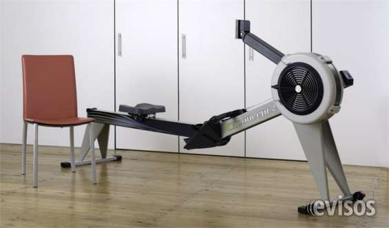 Gray concept2 model d rower machine mp5