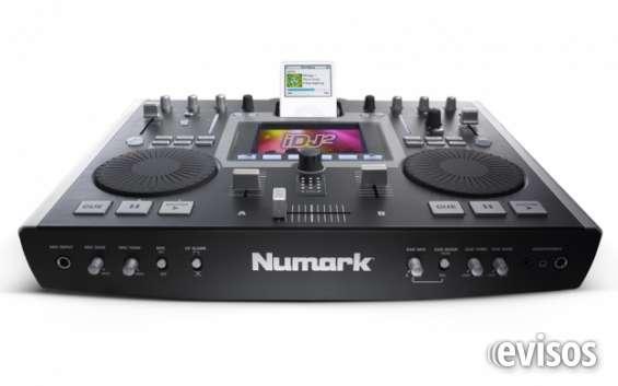 Numark idj2 mezclador de musica desde tu ipod, memorias usb o disco duro